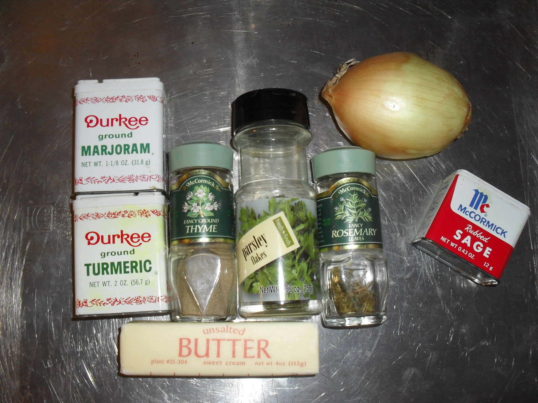 Bread Stuffing Seasonings