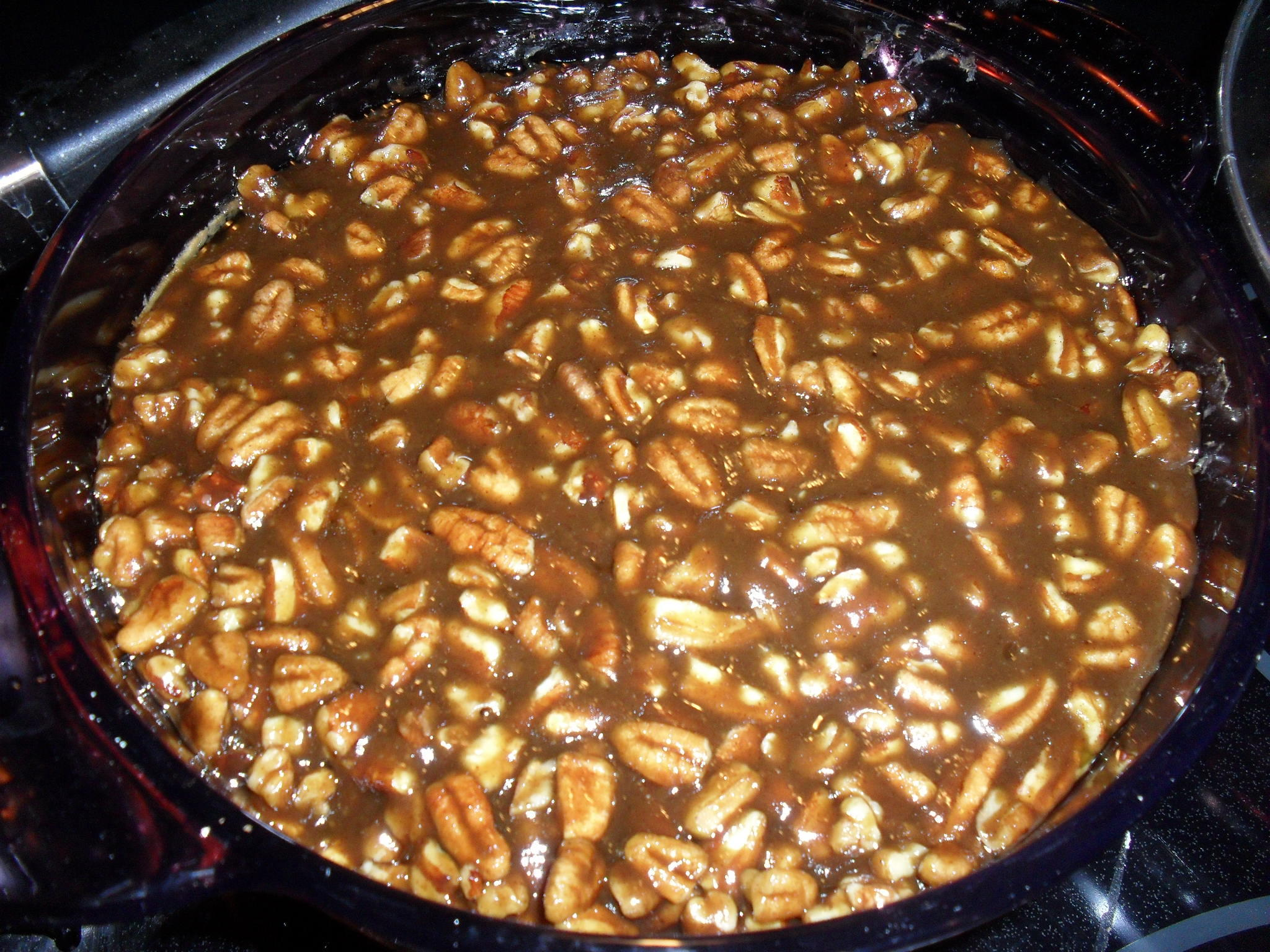 Pecan Covered Sweet Potato Casserole